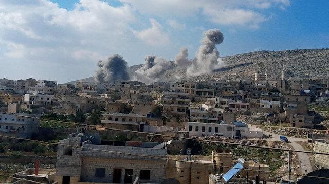 Rus savaş uçakları sivilleri vurmaya devam ediyor