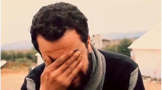 Suriyeli babadan acı yakarış: Çocuklarım soğuktan ölmesin diye dileniyorum
