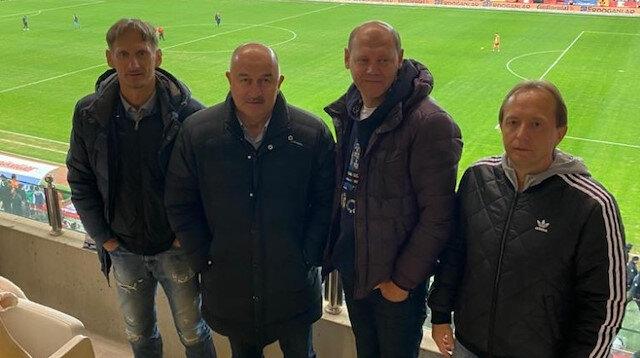 Çerçesov Antalyaspor-Kasımpaşa maçını izledi