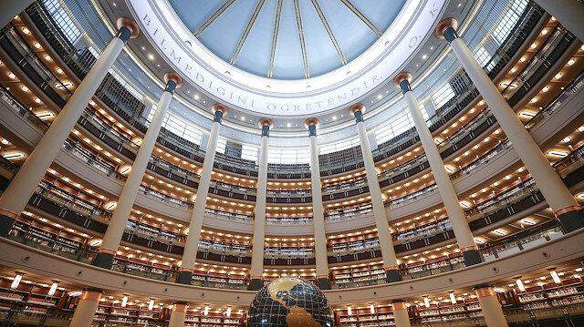 Cumhurbaşkanlığı Millet Kütüphanesi açılıyor: Kütüphanede 4 milyon basılı 120 milyonun üzerinde elektronik yayın ile 550 bin e-kitap ve nadir eser bulunuyor