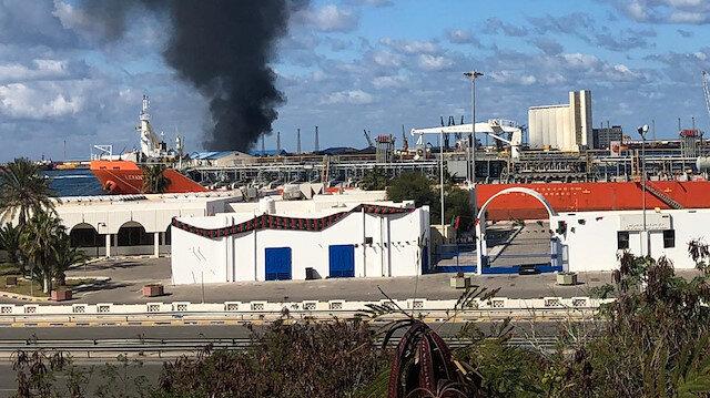 Hafter milislerinden Trablus Limanı'na ikinci roketli saldırı