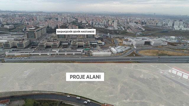 Başakşehir'de 10. projeye başlıyor