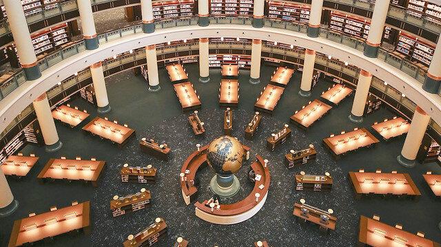 5 milyon kitaplık kütüphane bugün açılıyor