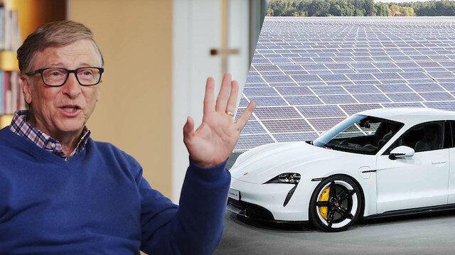 Bill Gates, ilk elektrikli otomobili için Porsche'u tercih etti
