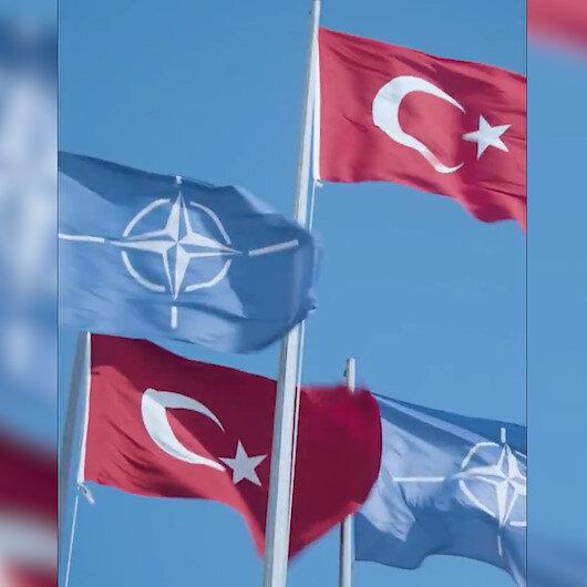 NATO resmi Twitter hesabından Türkiye paylaşımı