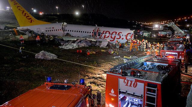 Kara kutular çözülüyor:  Sabiha Gökçen'deki uçak kazası aydınlanmaya başladı