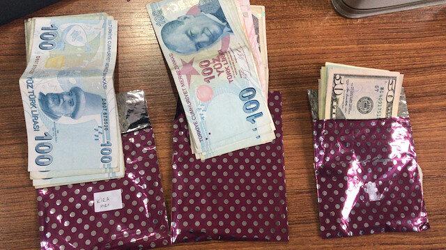 İstanbul'da FETÖ operasyonu: Çok sayıda F serisi 1 dolar ele geçirildi