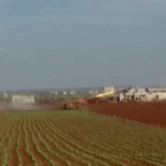 TSK, rejim hedeflerini çok namlulu roketatarlar ile vurdu