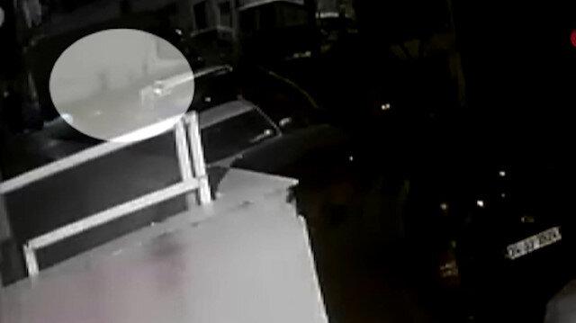 Kan donduran olayda yeni görüntüler: Bebeği böyle çöp konteynerine bırakmış