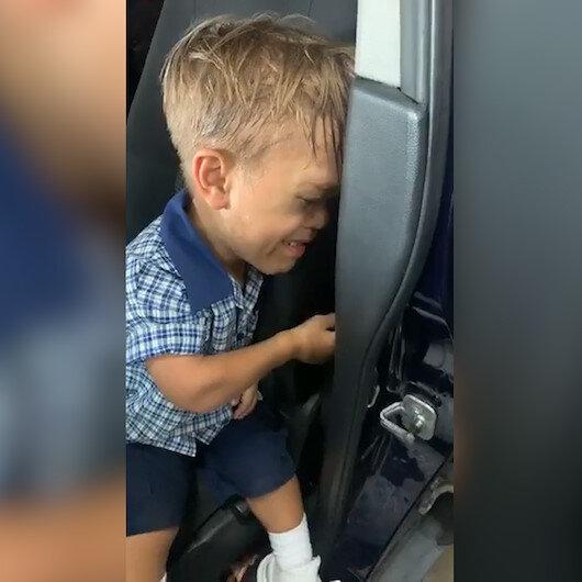 9 yaşındaki cüce çocuk gözyaşları içinde ölmek istedi