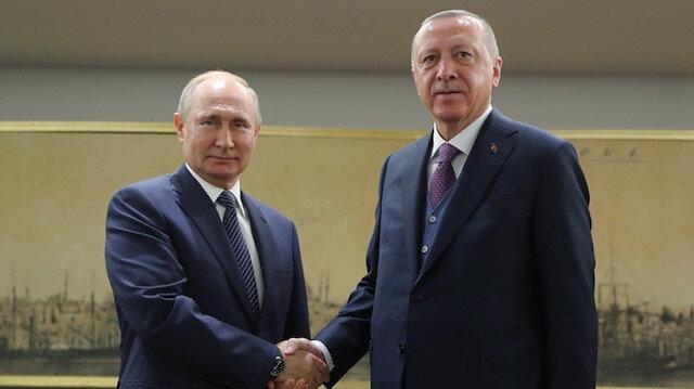 Cumhurbaşkanı Erdoğan, Putin'le görüştü: Rejim dizginlenmeli