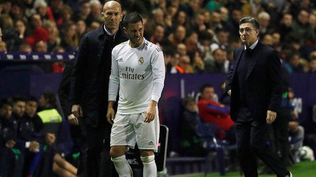 Real Madrid'e Hazard'dan kötü haber: Çatlak tespit edildi