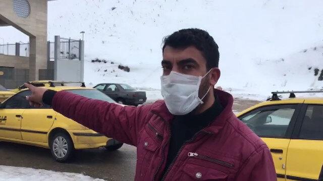 İran'a geçmek isteyen sürücüler sınırda bekletiliyor