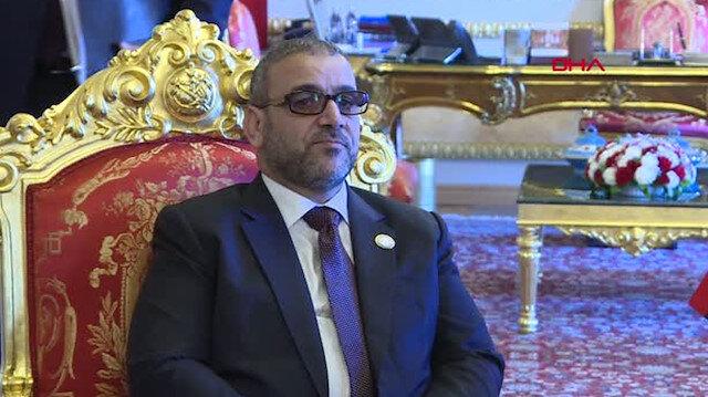 Libya Yüksek Devlet Konseyi Başkanı Halid el-Meşri'den flaş Cenevre açıklaması