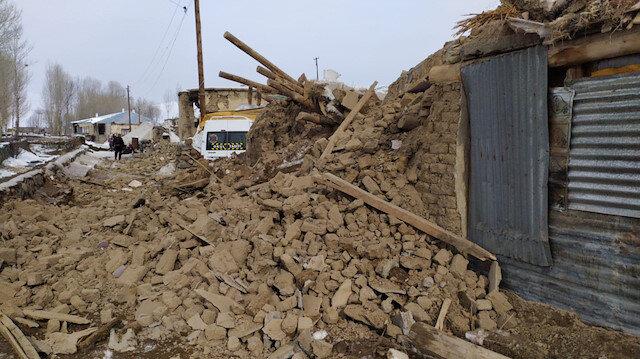 İran'da Deprem: Van'ın sınır köyleri de etkilendi