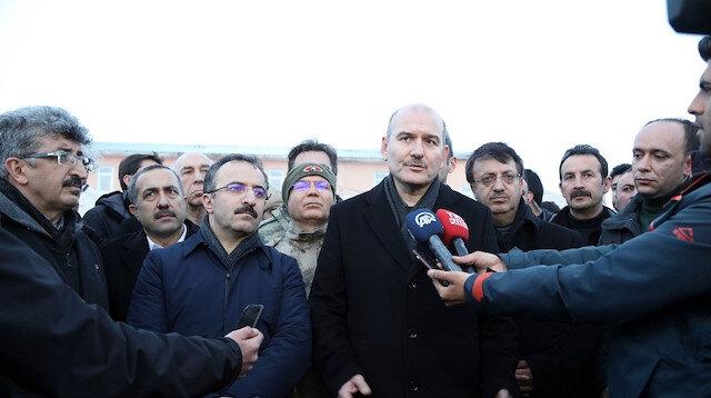 İçişleri Bakanı Soylu: Yıkılan evlerin yerine yenisi yapılacak
