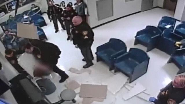 ABD'de kadın mahkum havalandırma borusundan kaçmaya çalıştı