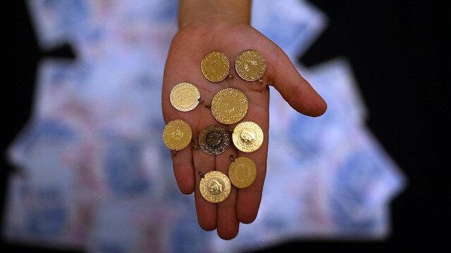 Çeyrek altın 550 liraya koşuyor