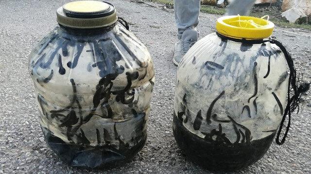 Yapan yandı: Yasa dışı sülük avına 73 bin lira para cezası