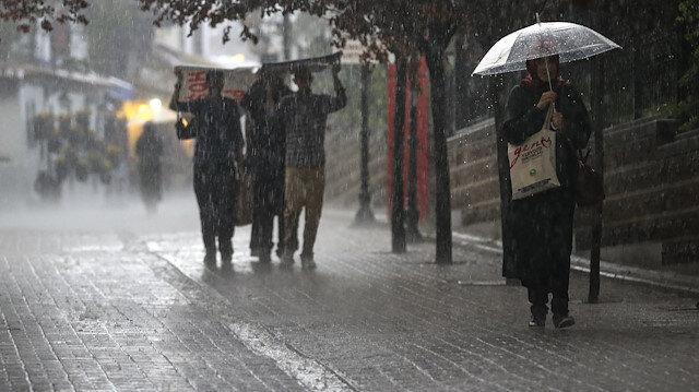 Meteoroloji son hava durumu tahminlerini açıkladı: 37 ile yağış uyarısı yapıldı