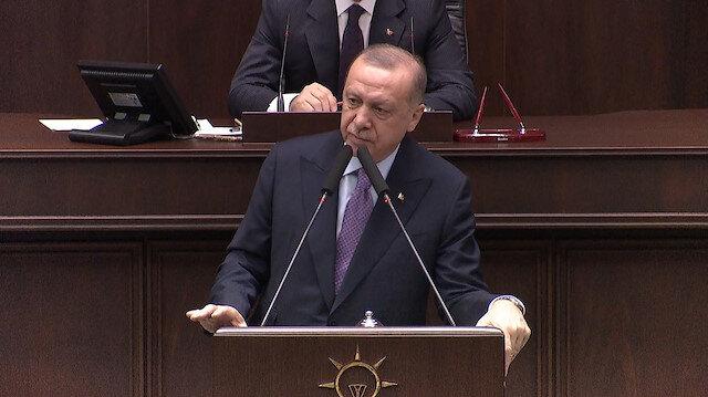 Cumhurbaşkanı Erdoğan'dan, Kılıçdaroğlu'na tepki, ''Teröristlerin arkasında duran kişi bu ülkenin ancak hasmı olabilir''