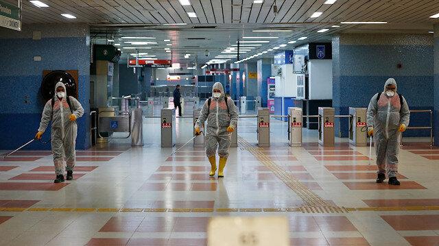 Başkentte metro ve Ankaray istasyonlarında