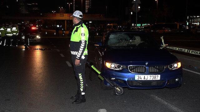 🛴Türkiye'deki ilk ölümlü scooter kazası: Otomobilin altında kaldı
