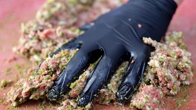 Gaziantep'in yeni lezzeti 'Fıstık Kebabı'
