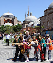 İstanbula turist akını