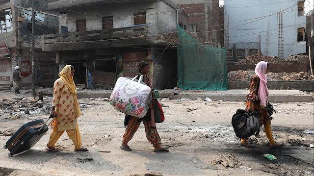 Hindu çetelerin Müslüman katliamı
