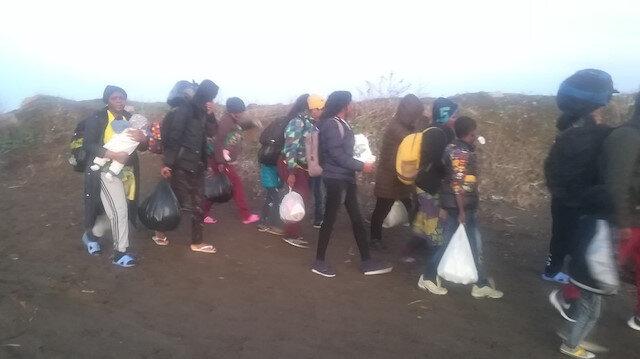 Hareketlilik başladı: İzmir'den Yunanistan'a mülteci akını