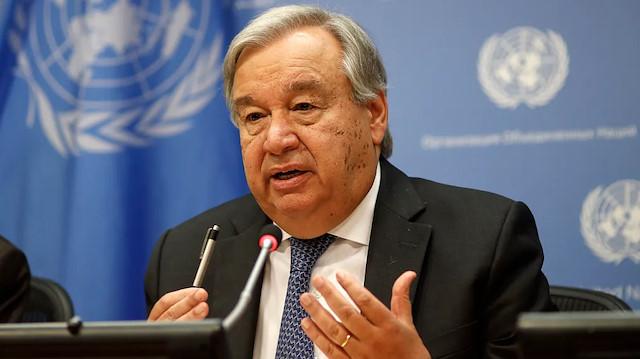 BM Genel Sekreteri Guterres: Gerginlikten geri adım atın