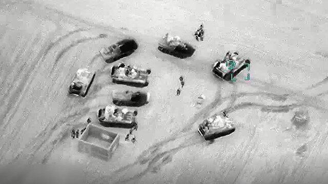 TSK rejim hedeflerini sabaha kadar böyle vurdu