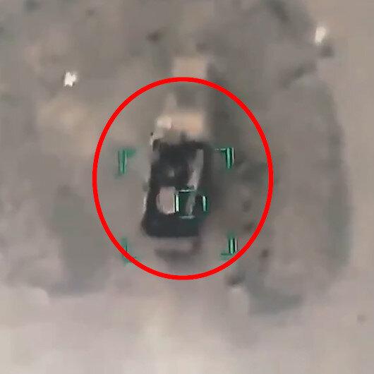 SİHAlar Suriye rejiminin 15 milyon dolarlık Pantsir hava savunma sistemini imha etti