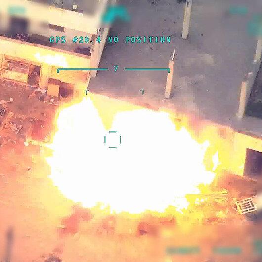 TSK, Suriye rejiminin kimyasal harp tesisini vurdu: İşte saniye saniye o anlar