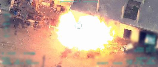 TSK çok stratejik <br>bir tesisi vurdu