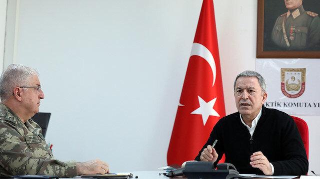 Milli Savunma Bakanı Akar harekatını adını duyurdu: Bahar Kalkanı