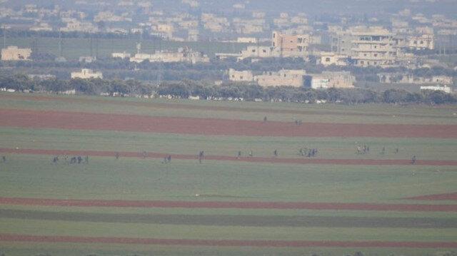 Esed'in Halep'teki Neyrab askeri havaalanı TSK tarafından hedef alınmasının ardından kullanılamaz hale geldi