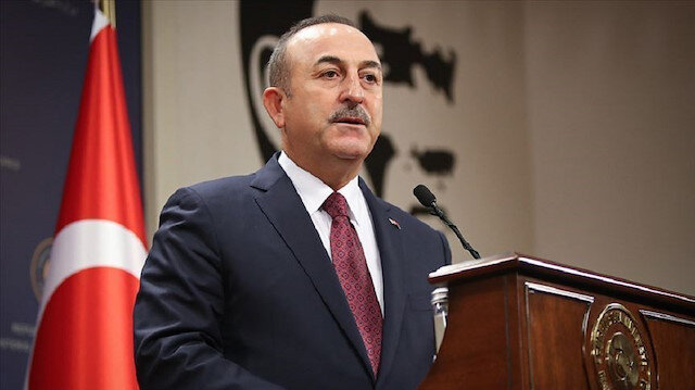 Bakan Çavuşoğlu'ndan Bahar Kalkanı Harekatı mesajı: Bayrağımıza uzanan tüm hain elleri kıracağız