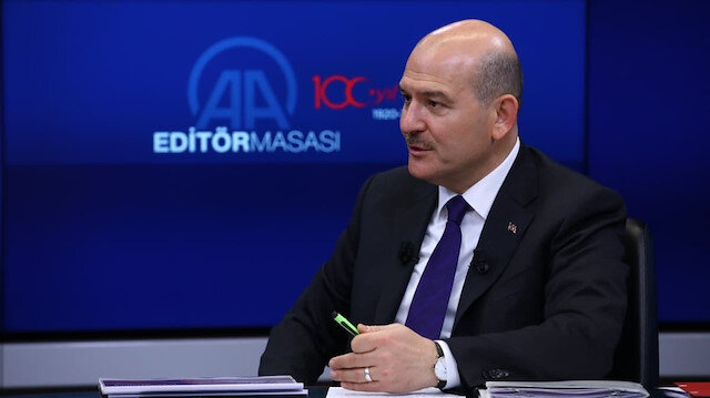 Bakan Soylu Türkiye'den ayrılan göçmen sayısını açıkladı