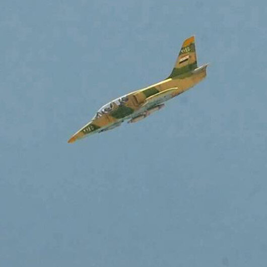 Milli Savunma Bakanlığı açıkladı: Rejime ait bir savaş uçağı daha düşürüldü