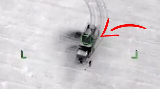 TSK bir Pantsir daha vurdu: SİHA'lar Rus yapımı hava savunma sistemini dağıttı