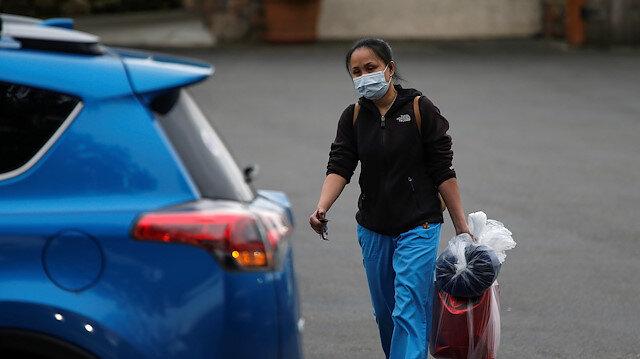 ABD'de koronavirüs alarmı: Evlerinizden çıkmayın