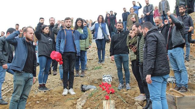 Türkiye şehitlerine ağlarken CHP terörist cenazesinde: Kaftancıoğlu teşkilatını gönderdi