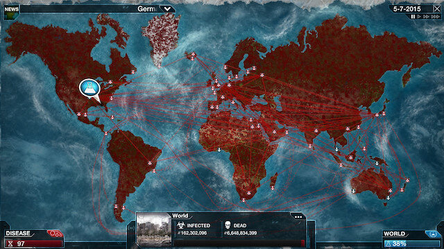 Dünyaya virüs yayma temalı oyun Çin'de yasaklandı