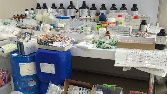 İstanbul'da 1 milyon paket sahte ilaç ele geçirildi