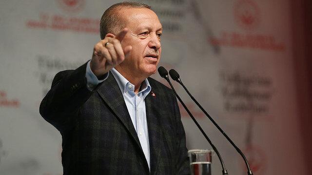 Cumhurbaşkanı Erdoğan'dan Yunanistan'a çağrı: Sen de kapılarını aç, gitsinler