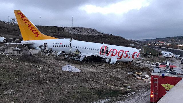 Sabiha Gökçen'deki kazada ön rapor çıktı: Uçağa yıldırım düşmüş
