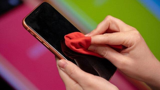 Apple'ın 'iPhone Temizleme' kılavuzuna 'koronavirüs' ayarı
