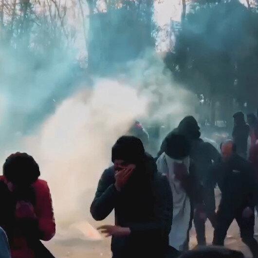 AK Parti Grup Toplantısında Yunanistan sınırında yaşanan mülteci dramını anlatan video yayınlandı